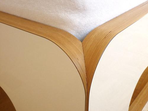 bett weiss 100x200 bett multiplex designbett bett massiv. Black Bedroom Furniture Sets. Home Design Ideas