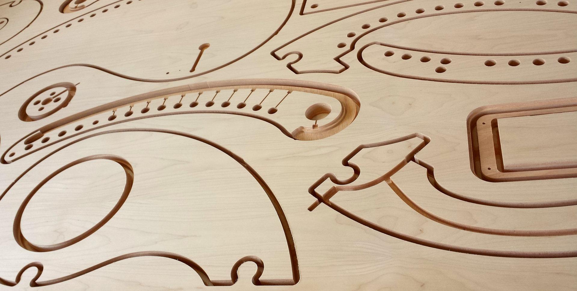 Favorit Grossformat Holz fräsen, Multiplex fräsen, Holz fräsen QO04