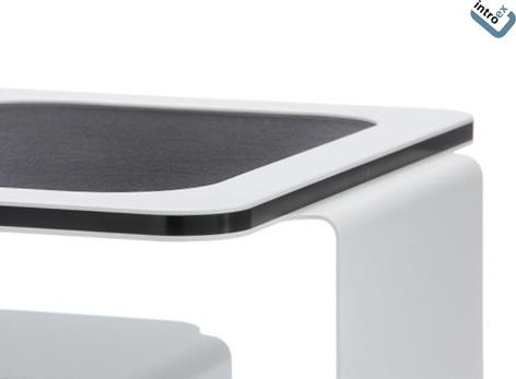 Designer beistelltisch schwarz in verschiedenen gr en for Beistelltisch design schwarz